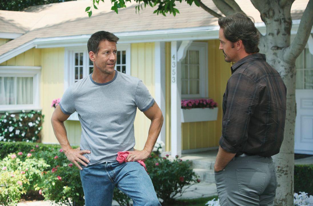 Renee versucht alles, um für den neuen Bewohner Ben Faulkner (Charles Mesure, r.) interessant zu werden, der jedoch hat auf eine andere Art und Weis... - Bildquelle: ABC Studios