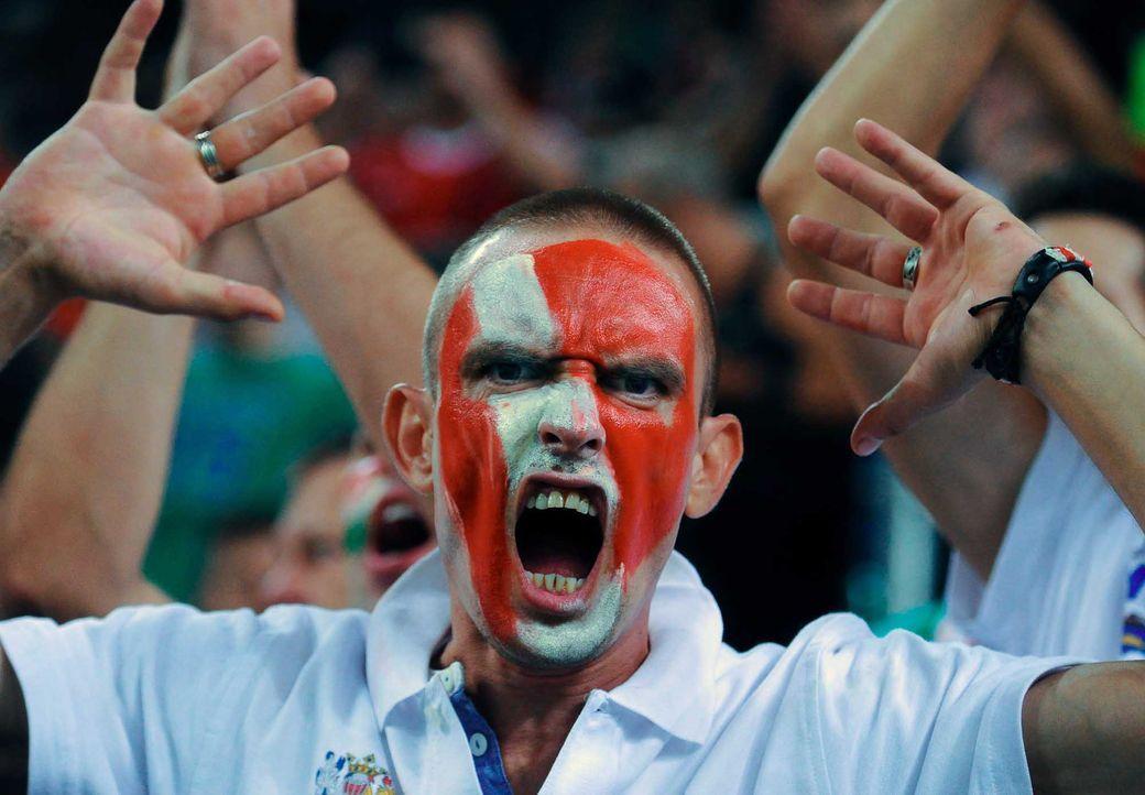 Fußball-Fan-Ungarn-151008-3-AFP - Bildquelle: AFP