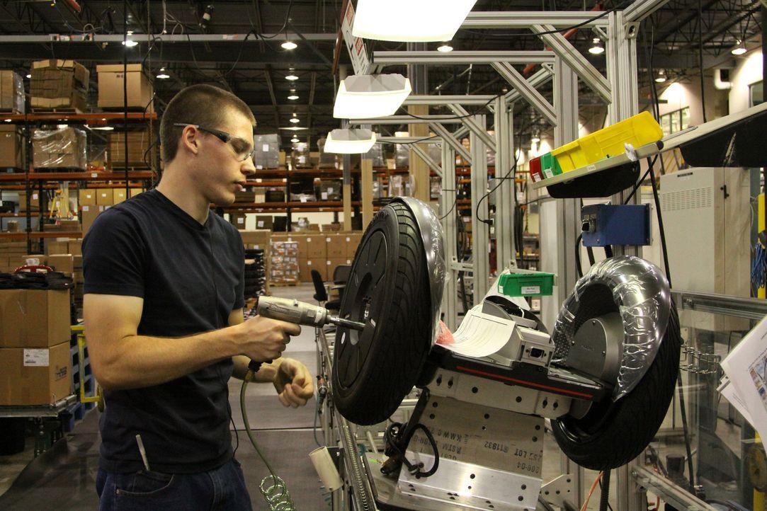 Seit dem Beginn der Industriellen Revolution hat sich die USA ihren Weg zur Supermacht in der Herstellung von Gütern gebahnt. Doch in den letzten zw... - Bildquelle: Courtesy Half Yard Productions