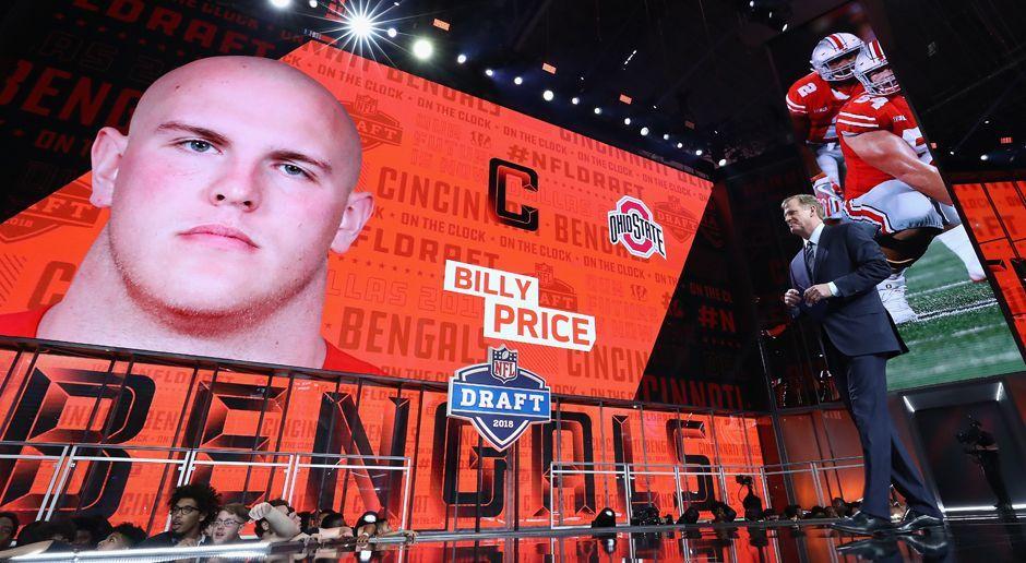 21. Pick - Cincinnati Bengals: C Billy Price - Bildquelle: getty