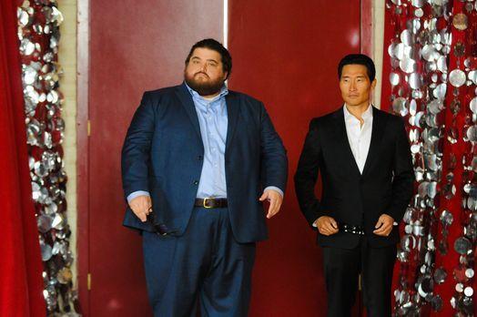 Ein ganz besonderes Klassentreffen wartet auf Chin (Daniel Dae Kim, r.) und J...