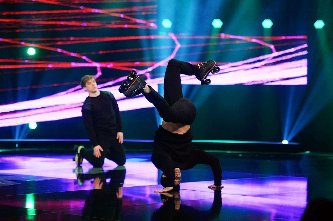 Got-To-Dance-Vanilla-Skate-06-SAT1-ProSieben-Willi-Weber-TEASER - Bildquelle: SAT.1/ProSieben/Willi Weber