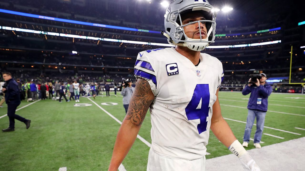 4. Dak Prescott (Dallas Cowboys) - Bildquelle: 2017 Getty Images