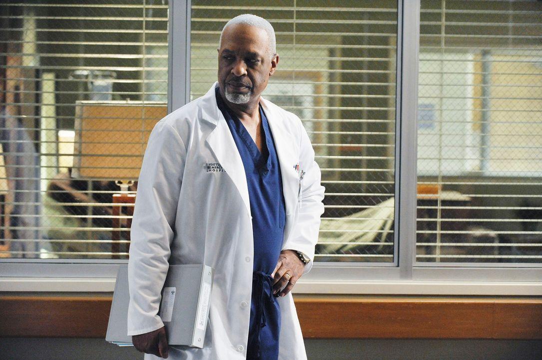 Ist ins Krankenhaus zurückgekehrt, um unter Dereks Leitung als Chirurg zu arbeiten: Richard (James Pickens, Jr.) ? - Bildquelle: Touchstone Television