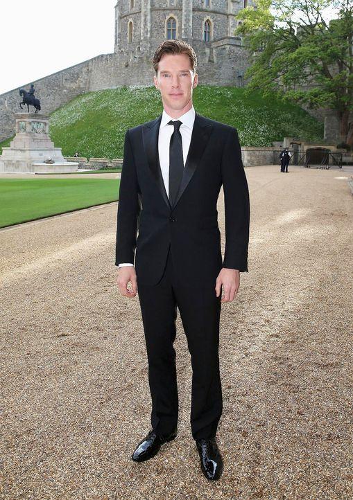 Dinner-Prinz-William-Benedict-Cumberbatch-14-05-13-AFP - Bildquelle: AFP