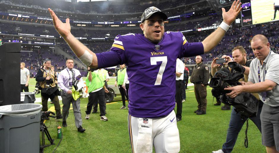 4. Case Keenum (Minnesota Vikings) - Bildquelle: 2017 Getty Images