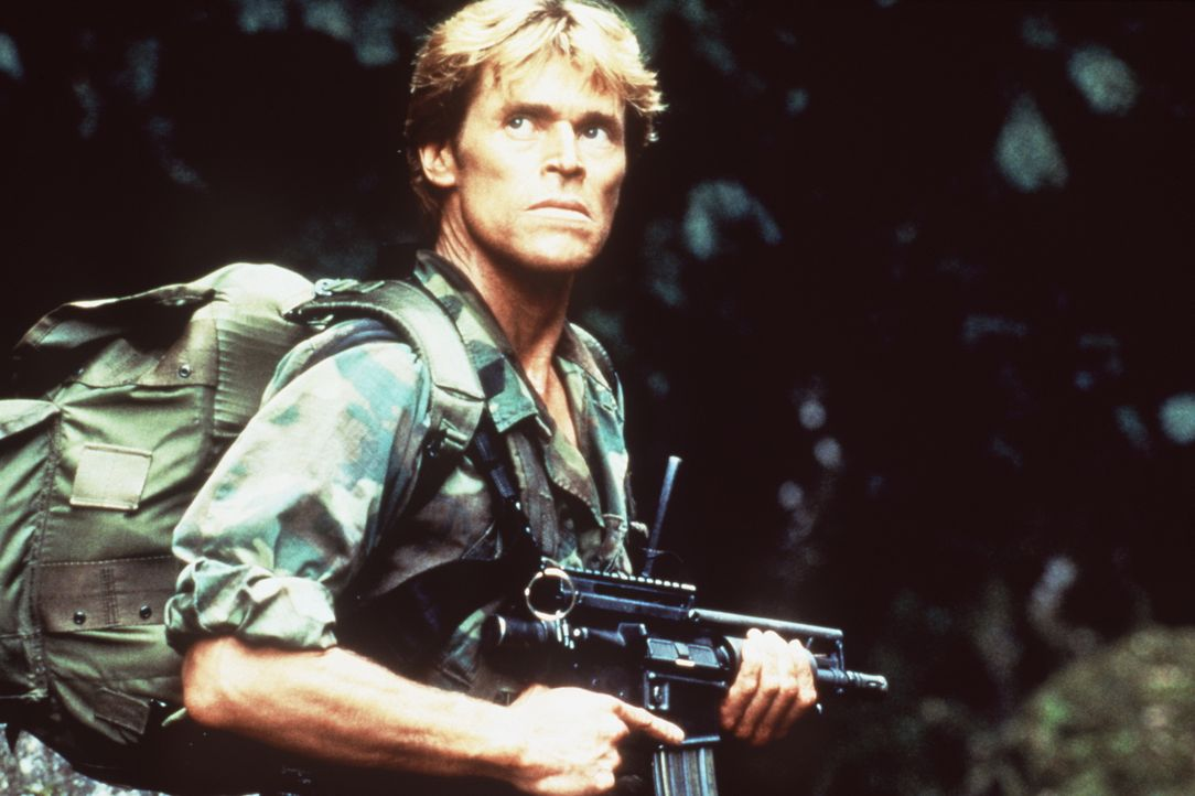 Auf der Suche nach seiner Truppe: Clark (Willem Dafoe), Leiter einer Sonderkommission ... - Bildquelle: Paramount Pictures