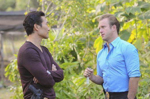 Hawaii Five-0 - Ein neuer Fall wartet auf Chin (Daniel Dae Kim, l.) und Danny...