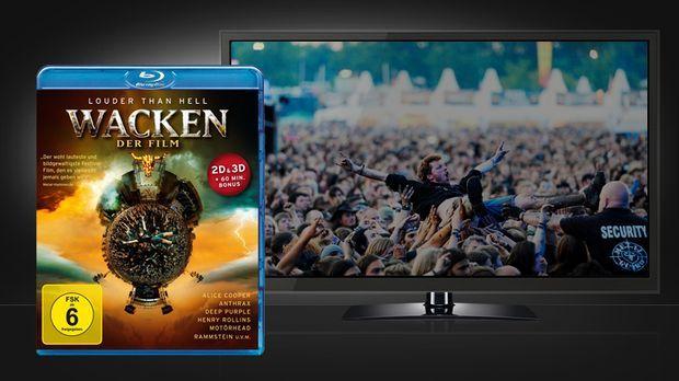 Wacken 3D - Szene und Cover © Warner Home Video