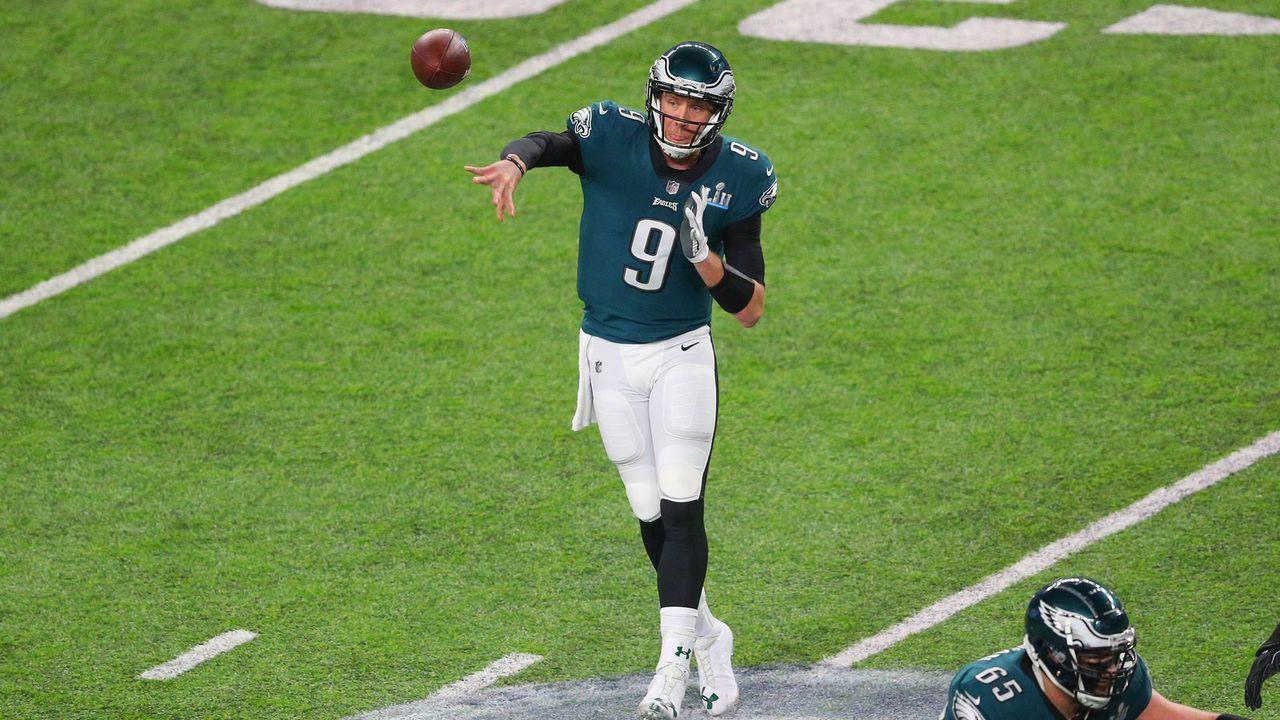 6. Nick Foles (Philadelphia Eagles) - Bildquelle: 2018 imago