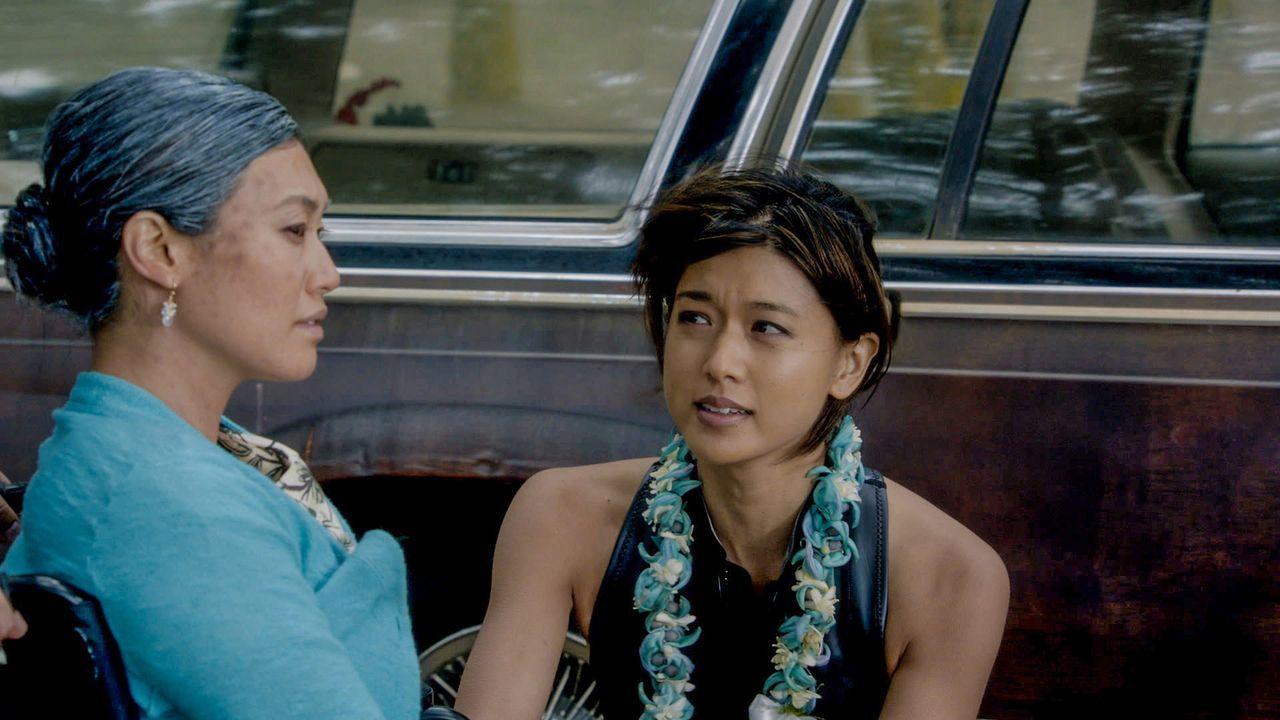 Der große Traum ihrer Mutter war es immer, mit dem Kanu um die Inseln von Hawaii zu segeln. Auf Grund ihres Hirnaneurysmas kann Nani (Catherine Haen... - Bildquelle: 2015 CBS Broadcasting Inc. All Rights Reserved.