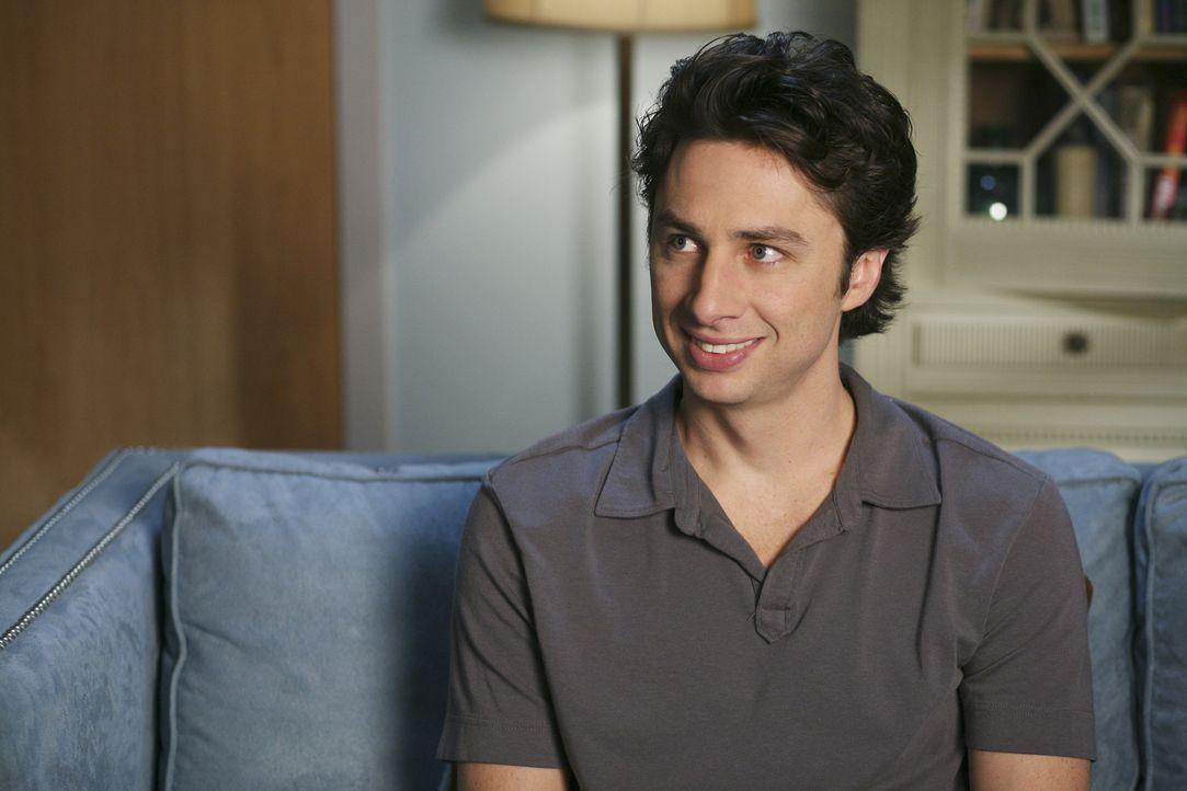 J.D. (Zach Braff) versucht alles um Kim ein guter Freund zu sein, damit sie die Stelle in Washington nicht annimmt ... - Bildquelle: Touchstone Television