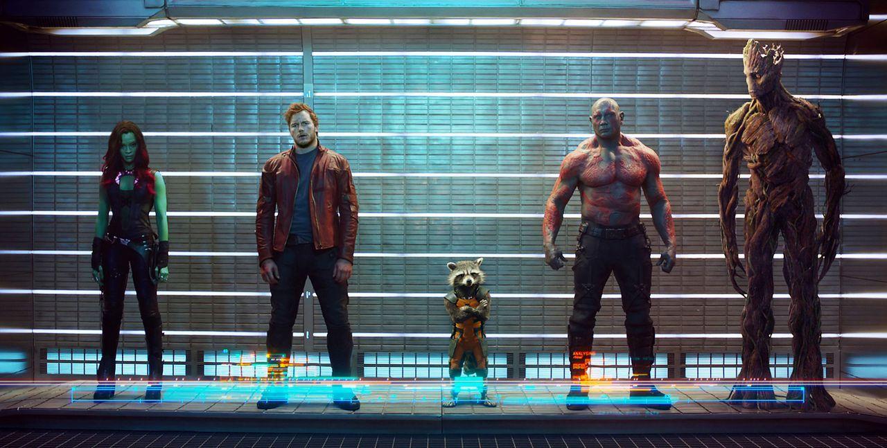 Guardians-Of-The-Galaxy-1-Marvel - Bildquelle: Marvel 2014
