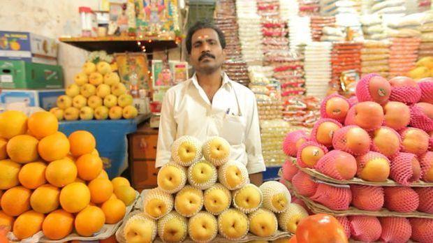 Größter Obst und Gemüsemarkt der Welt