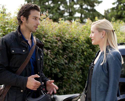 Helena macht Michael klar, dass er es noch Bereuen wird, sie zurückgewiesen zu haben ... - Bildquelle: David Saretzki - Sat1