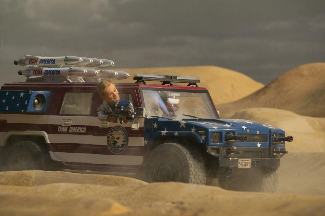 Auf der Jagd nach gnadenlosen Terroristen: Joe ... - Bildquelle: Paramount Pictures