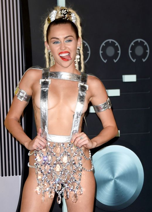MTV-VMAs-150830-09-Miley-Cyrus-getty-AFP - Bildquelle: MARK RALSTON / AFP