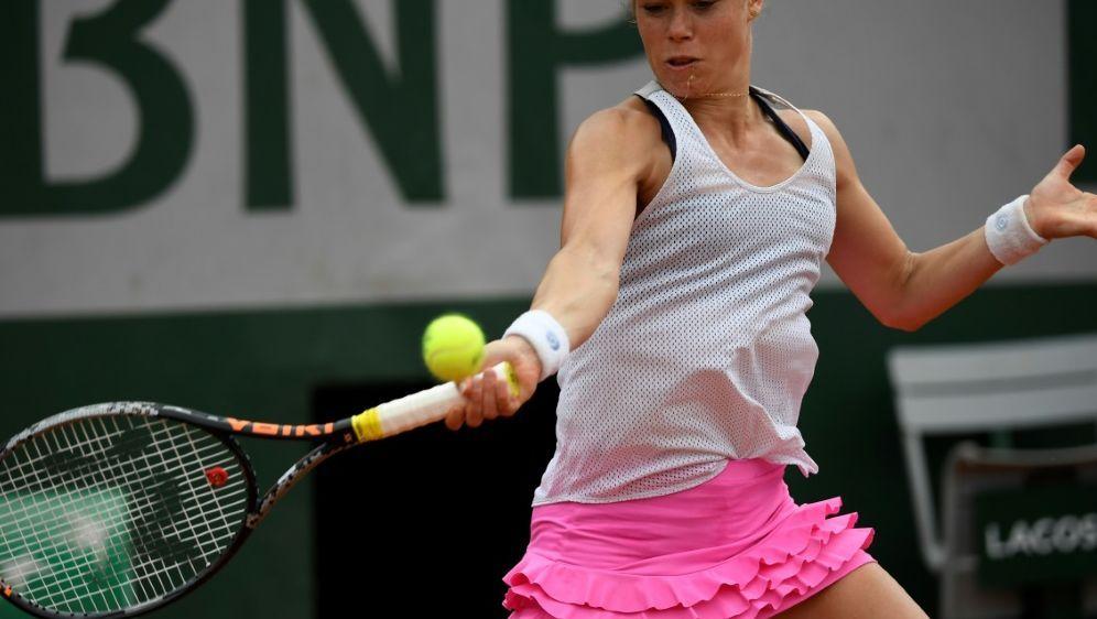 WTA-Turnier: Laura Siegemund steht im Viertelfinale - Bildquelle: AFPSIDEric FEFERBERG