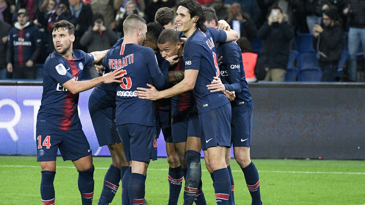 Platz 1: Paris Saint-Germain (Ligue 1/Frankreich) - Bildquelle: imago/PanoramiC