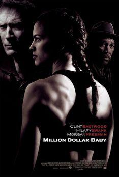 Million Dollar Baby - Million Dollar Baby mit (v.l.n.r.) Clint Eastwood, Hila...