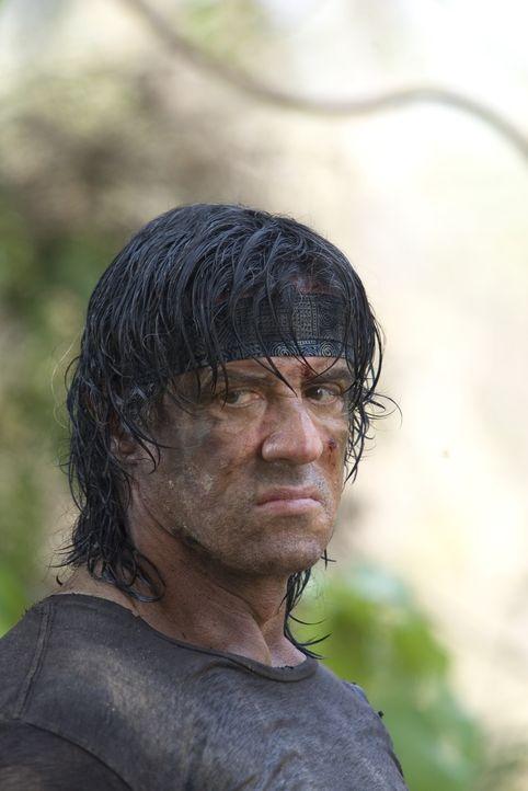 Mit ihm ist nicht zu spaßen: Rambo (Sylvester Stallone) ... - Bildquelle: Karen Ballard Nu Image Films