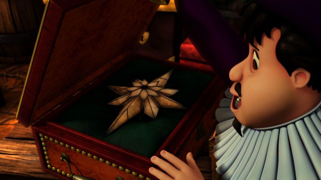 Turmtrompeter Chamberlain öffnet das Kästchen mit dem königlichen Stern, der nur zu Weihnachten hervorgeholt wird ... - Bildquelle: 2012 Swan IV LLC. All Rights Reserved.