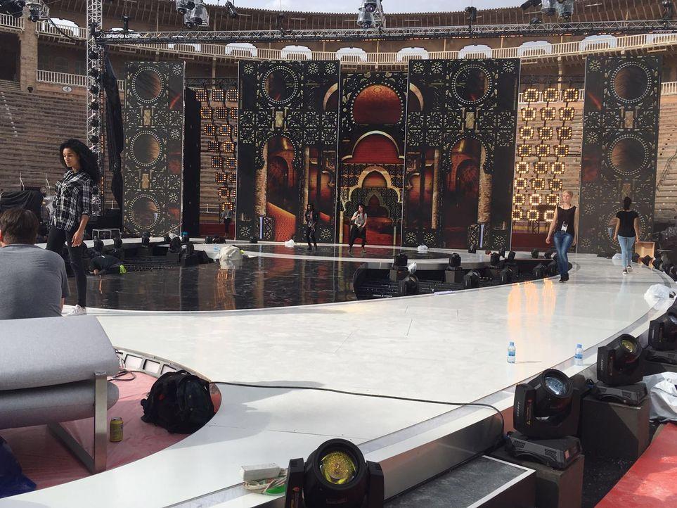 GNTM Backstage Finalwoche_3 - Bildquelle: ProSieben