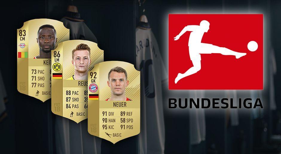 Die Besten Bundesliga Spieler In Fifa 18