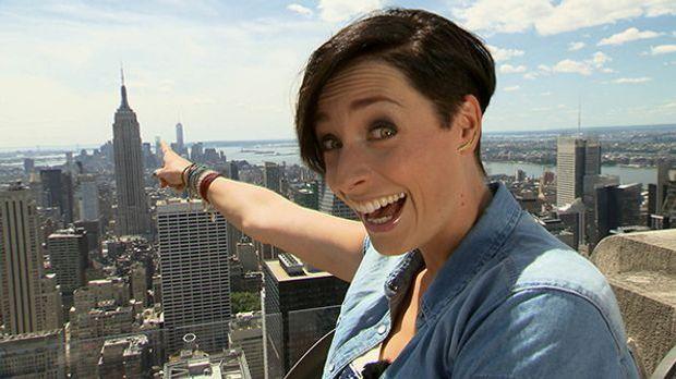 Kathy und das Empire State Building