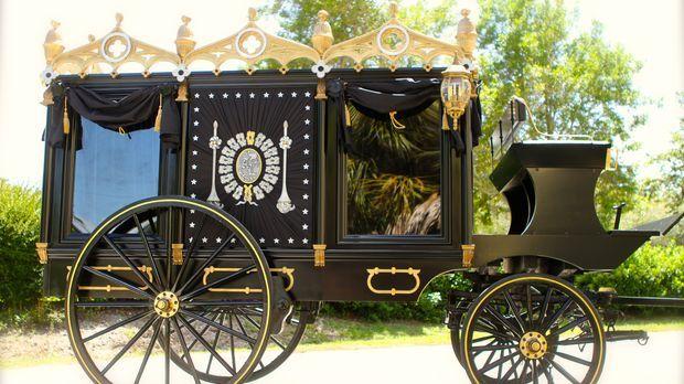 Lincolns letzte Reise: Das Team von Creative Arts kreierte eine identische Na...