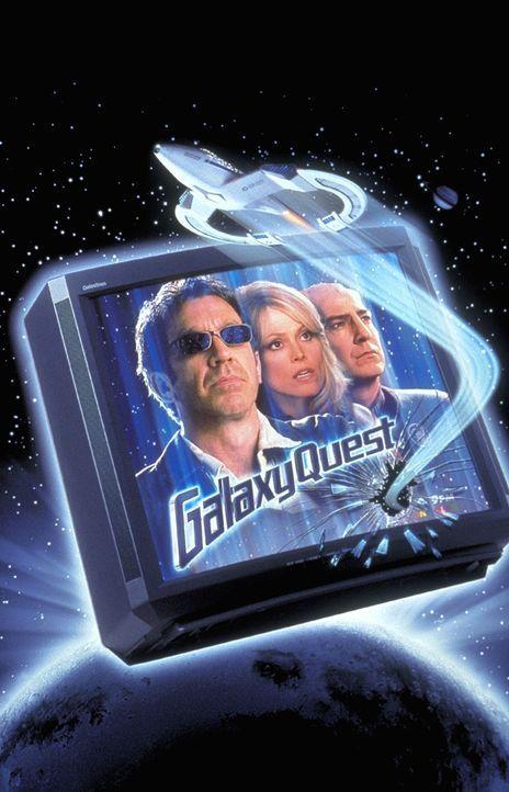 Jahrelang haben sich Jason Nesmith (Tim Allen, l.), Gwen DeMarco (Sigourney Weaver, M.), Alexander Dane (Alan Rickman, r.) auf den Weg zu spannenden... - Bildquelle: DreamWorks Distribution LLC