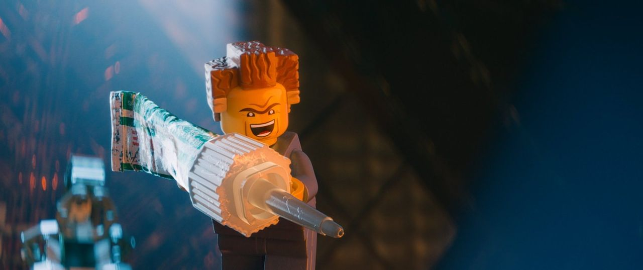 Niemand ahnt, dass President Business in Wahrheit der böse Lord Business ist, der eine Waffe erschaffen will, die verhindert, dass die Meisterbauer... - Bildquelle: 2014 Warner Brothers