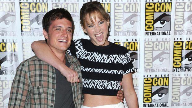 """Stars - """"Die Tribute von Panem""""-Star Jennifer Lawrence: Josh Hutcherson als Seelentröster?"""