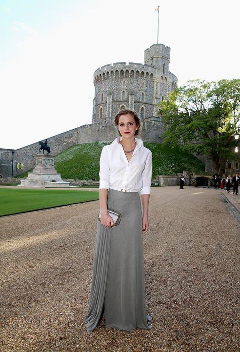 Dinner-Prinz-William-Emma-Watson-14-05-13-AFP - Bildquelle: AFP