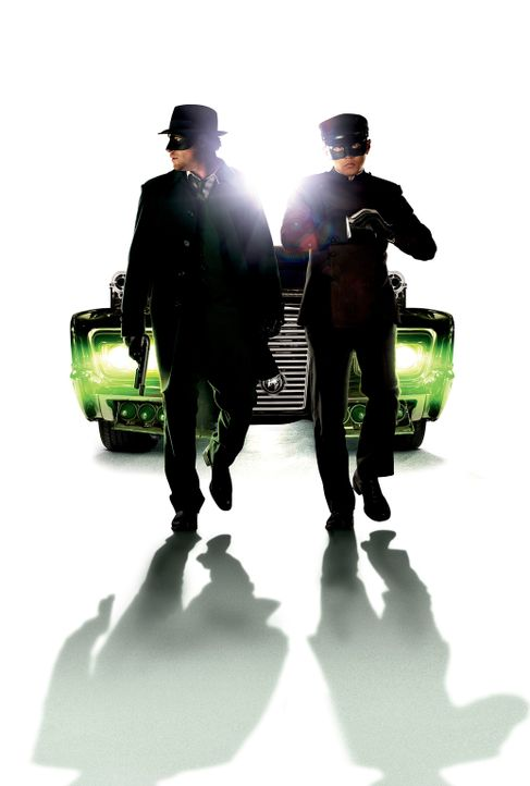 THE GREEN HORNET - Artwork - mit Seth Rogen (l.) und Jay Chou (r.) - Bildquelle: The Green Hornet, related characters and hornet logo ? &   2011 The Green Hornet, Inc. All Rights Reserved.