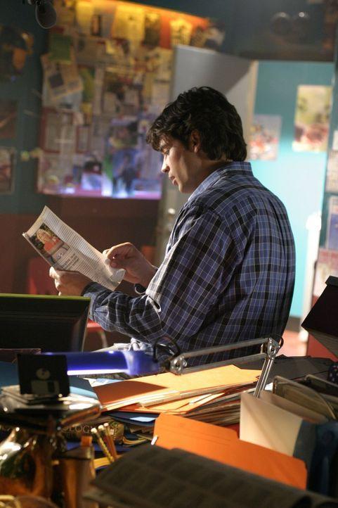 Für Clark (Tom Welling) und seine Freunde beginnt das letzte Jahr an der Highschool mit einer besonderen Überraschung ... - Bildquelle: Warner Bros.