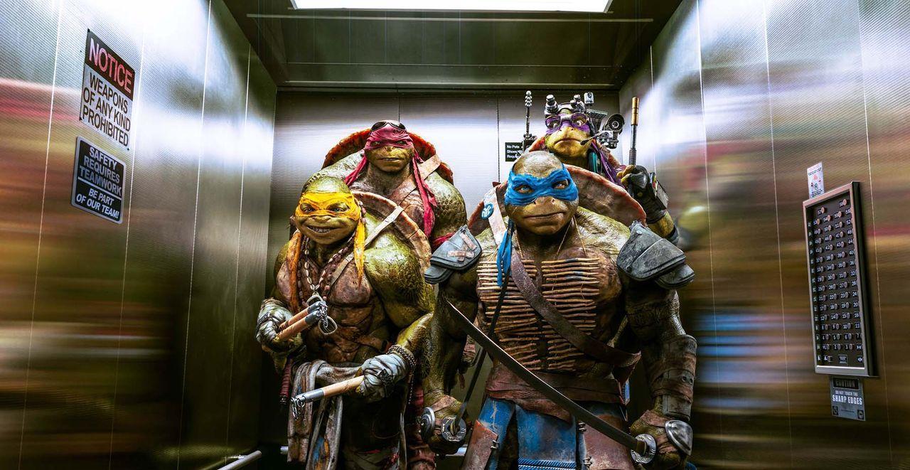 teenage-mutant-ninja-turtles-39-Paramount-Pictures - Bildquelle: Paramount Pictures