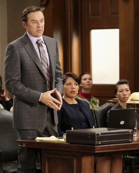 Nachdem Callie (Sara Ramirez, r.) eine falsche Behandlung an einem Patienten vorgenommen hat, muss sie sich nun mit Hilfe ihres Anwalts (Currie Grah... - Bildquelle: ABC Studios