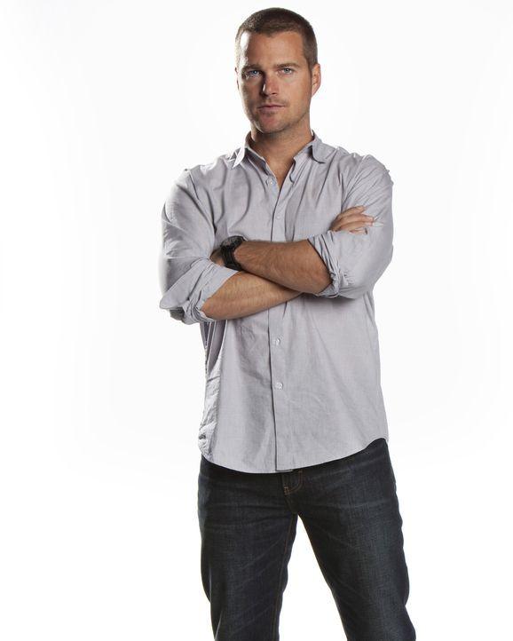 (2. Staffel) - Ist ein wahrer Identitätskünstler, der sich in jede Rolle hineinversetzen kann: Special Agent G. Callen (Chris O'Donnell) ... - Bildquelle: CBS Studios Inc. All Rights Reserved.