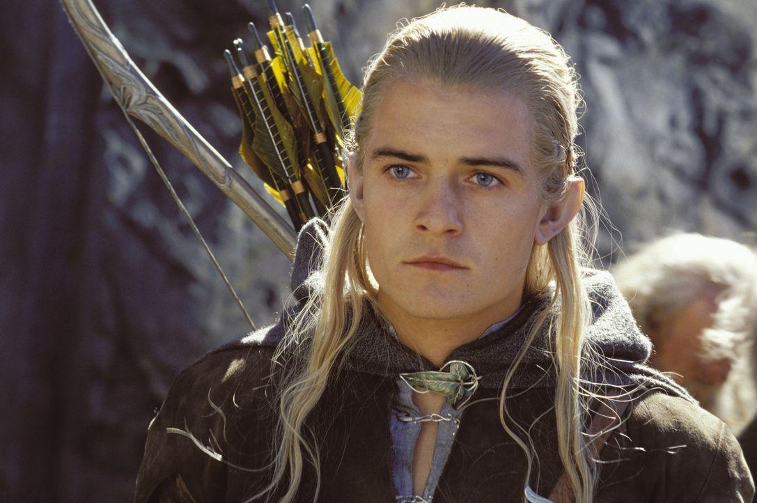 Legolas (Orlando Bloom) ist weiterhin auf der Suche nach den zwei Hobbits Merry und Pippin ... - Bildquelle: Warner Brothers
