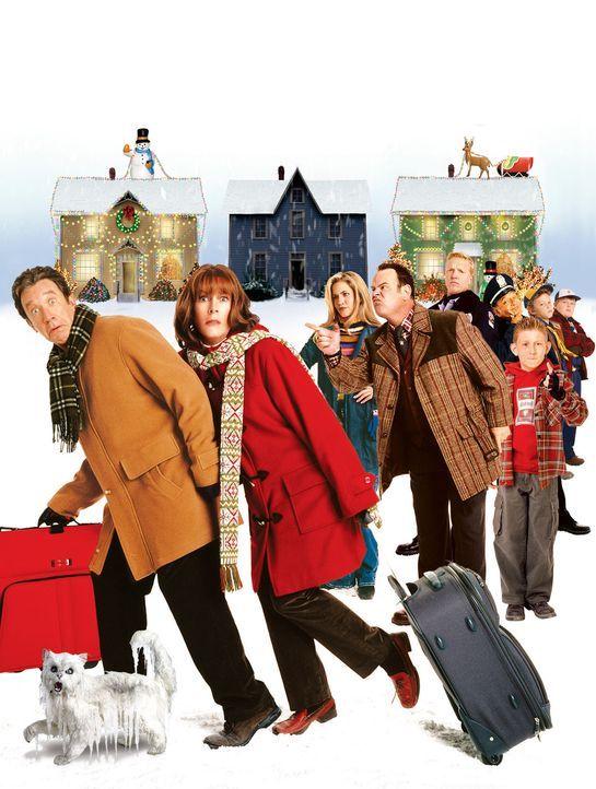 Luther und Nora Krank haben von Weihnachten die Nase voll und beschließen, die Feiertage in der Südsee zu verbringen. Als jedoch ihre Tochter Blai... - Bildquelle: 2004 Revolution Studios Distribution Company, LLC. All Rights Reserved.
