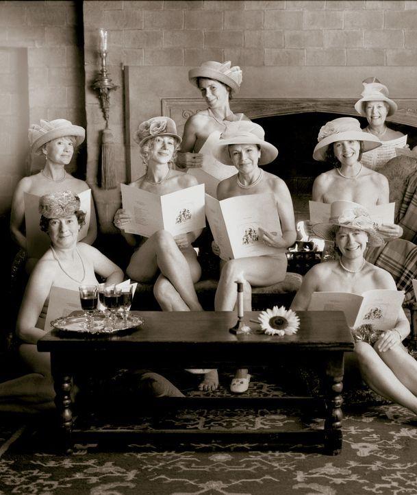 Ältere Damen, die Marmelade einkochen, sind nichts Besonderes. Frauen, die sich nackt für einen Kalender ablichten lassen ebenso wenig. Aber gestand... - Bildquelle: Buena Vista Pictures Distribution /   Touchstone Pictures. All Rights Reserved.
