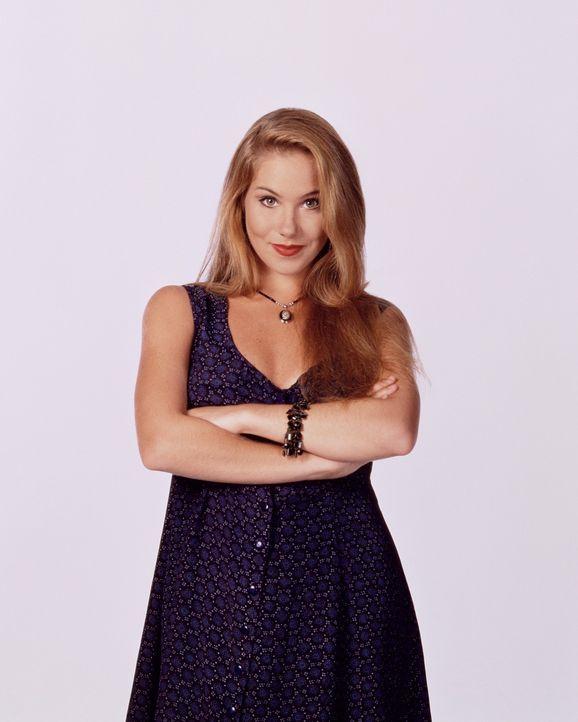 (7. Staffel) - Kelly Bundy (Christina Applegate) ist zwar mit hervorstechenden Formen gesegnet, dafür wurde beim Verstand gespart. - Bildquelle: Sony Pictures Television International. All Rights Reserved.