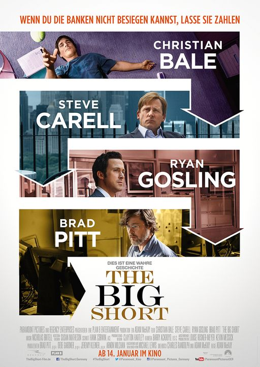 The-Big-Short-Plakat-Paramount - Bildquelle: Paramount