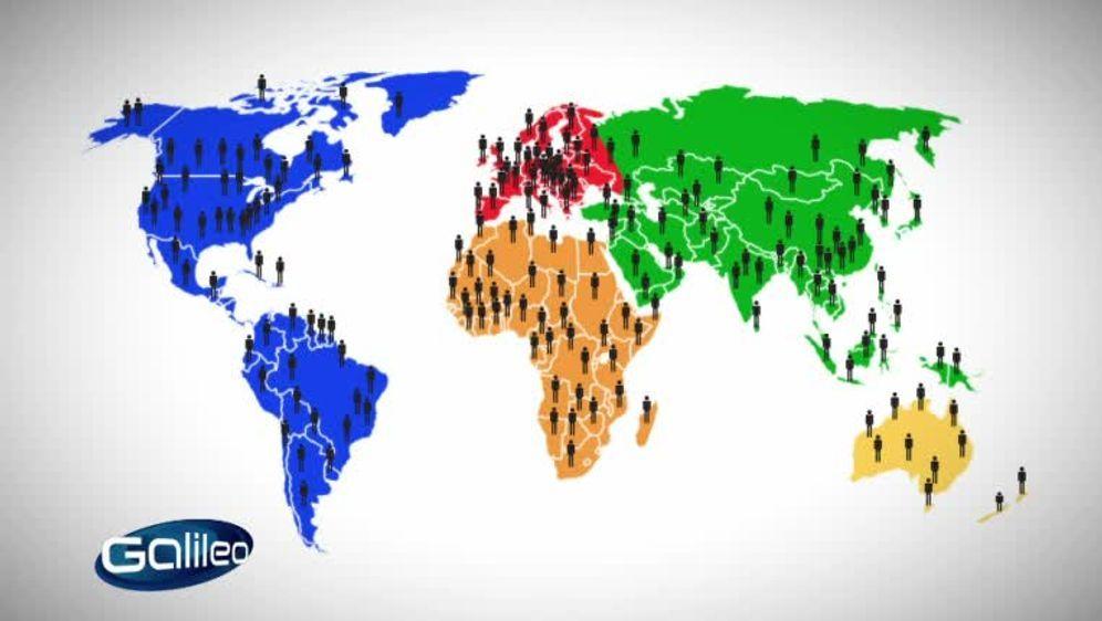 Die Welt an einem Tag