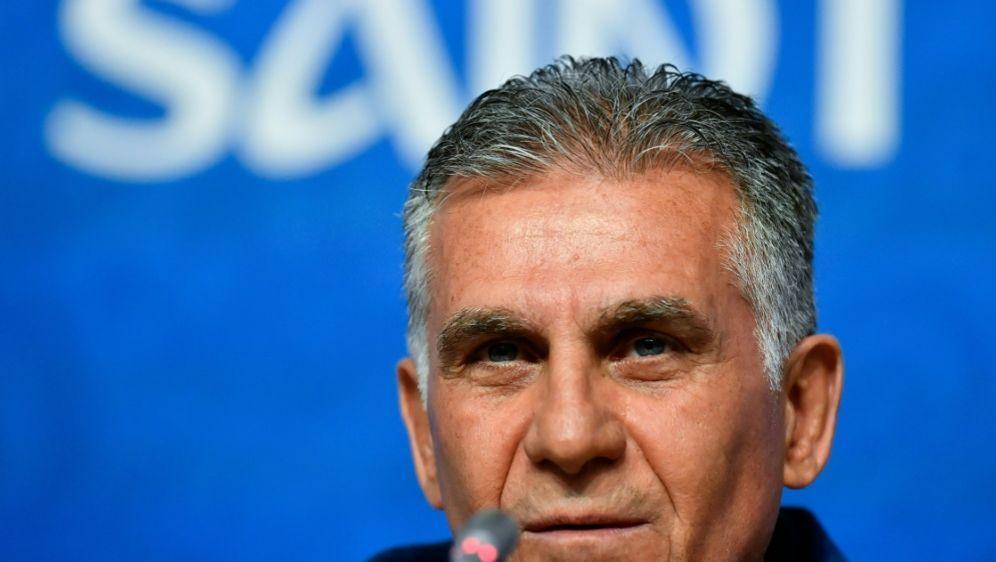 Trainer Queiroz will einen Sieg gegen Marokko einfahren - Bildquelle: AFPSIDCHRISTOPHE SIMON