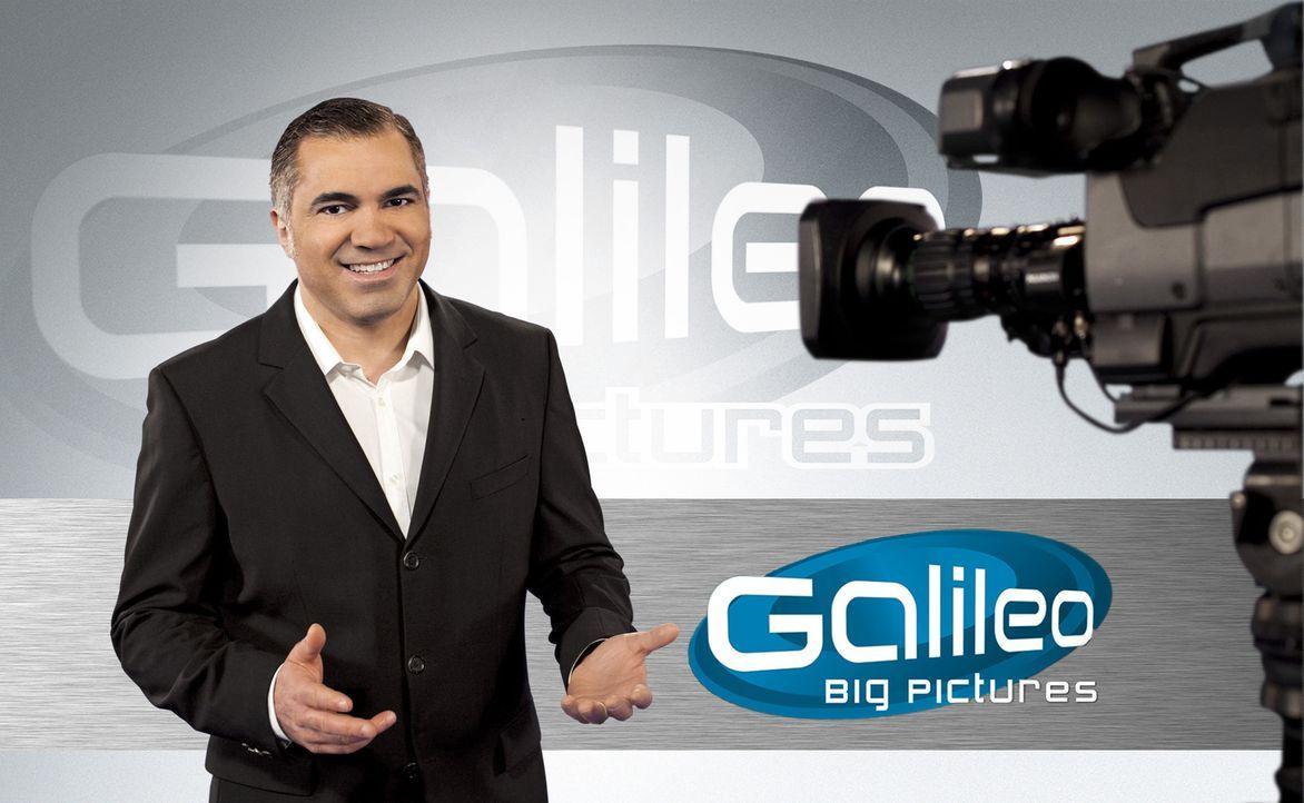 """""""Galileo Big Pictures"""" wird von Aiman Abdallah präsentiert. - Bildquelle: Chris Hirschhäuser ProSieben"""