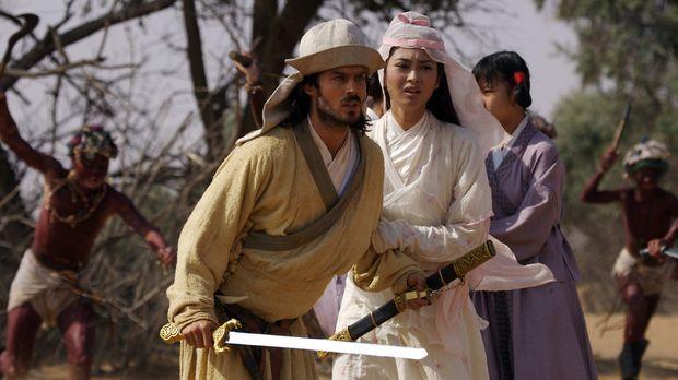 Wurden in einen Hinterhalt gelockt: Marco Polo (Ian Somerhalder, l.) kämpft u...