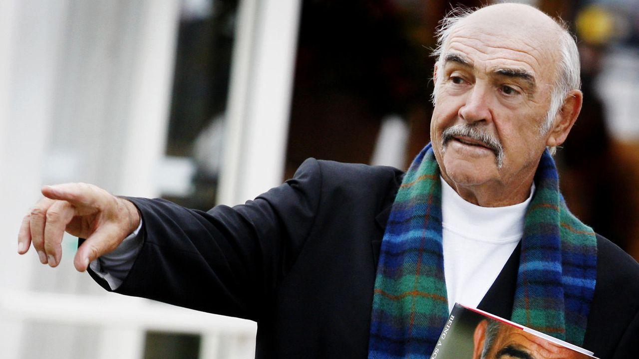 Sean Connery  - Bildquelle: AFP