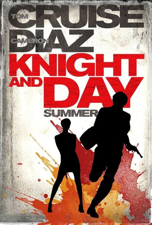 KNIGHT AND DAY - Plakatmotiv - Bildquelle: TM and   2010 Twentieth Century Fox and Regency Enterprises.  All rights reserved.  Not for sale or duplication.